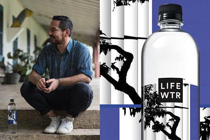 Notícias —Laercio Redondo é convidado da Pepsi para ilustrar rótulo da garrafa LIFEWTR