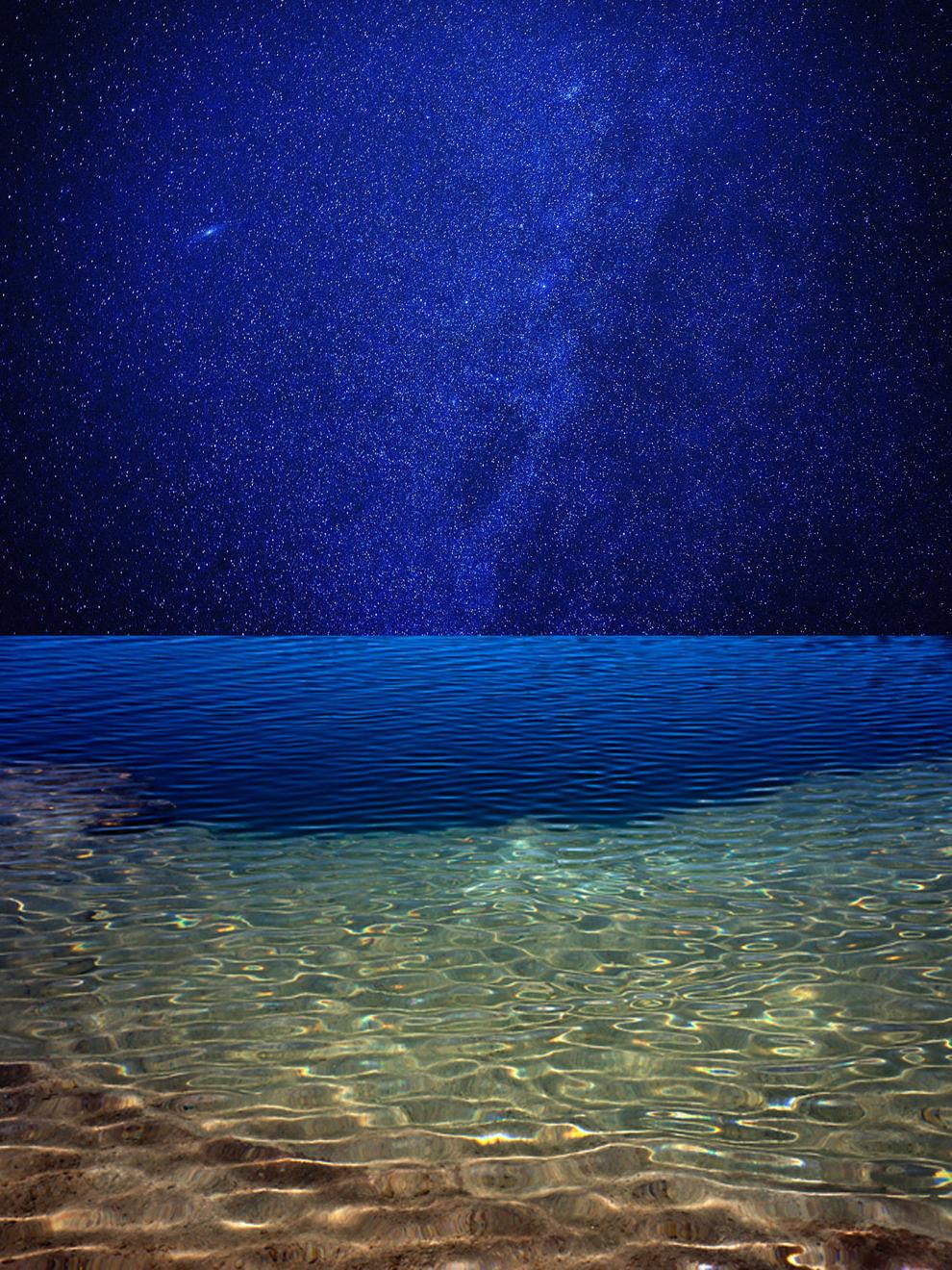 Azuis (Blue), 2018