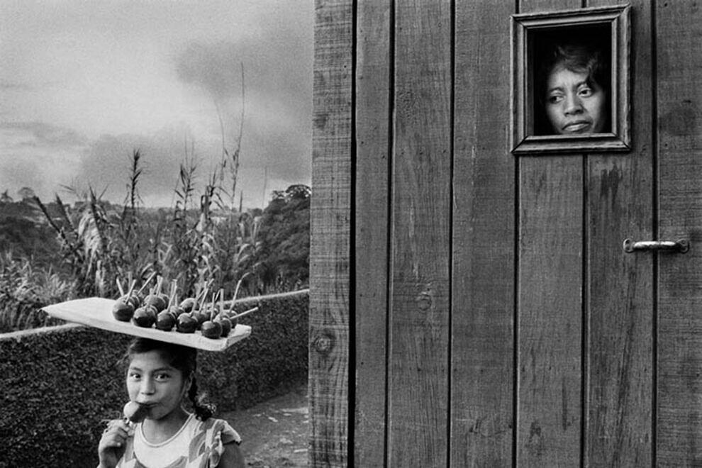 Periferia da cidade de Guatemala, 1978