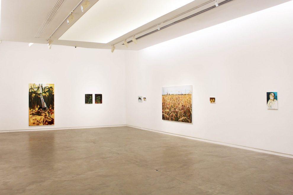Vista da exposição Paisagem com Casinha 1, 2021
