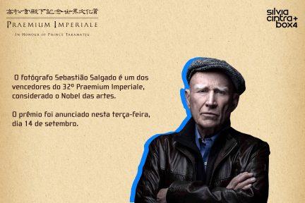 Notícias —Sebastião Salgado conquista o Prêmio Imperial do Japão, considerado Nobel das artes